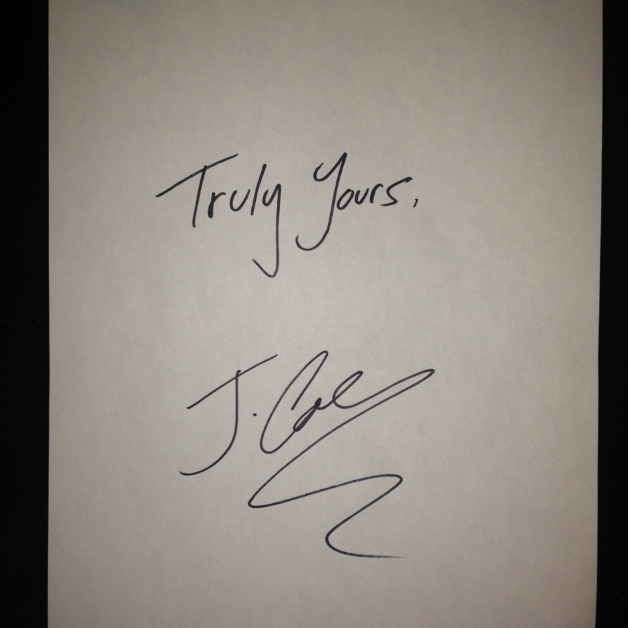 J Cole Truly Yours
