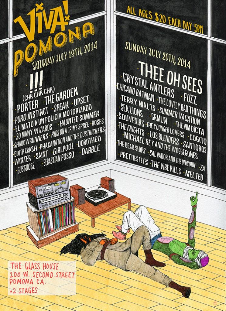 Viva Pomona 2014 lineup